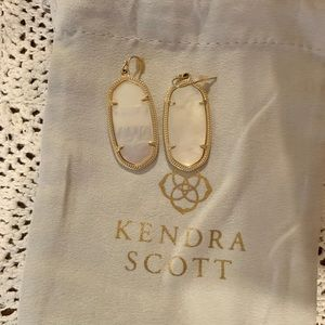 Kendra Scott Mother of Pearl Elle Earrings